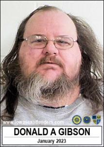 Donald Allen Gibson a registered Sex Offender of Iowa