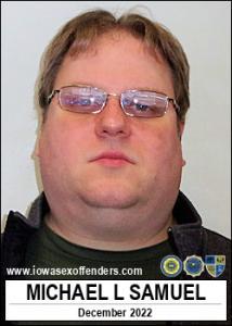 Michael Lewis Samuel a registered Sex Offender of Iowa