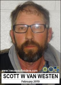 Scott Ward Vanwesten a registered Sex Offender of Iowa