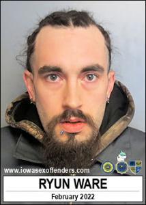 Ryun Ware a registered Sex Offender of Iowa