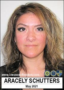 Aracely Schutters a registered Sex Offender of Iowa