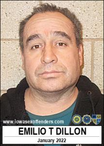 Emilio Tachiquin Dillon a registered Sex Offender of Iowa