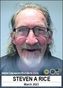 Steven Allen Rice a registered Sex Offender of Iowa