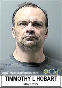 Timmothy Lee Hobart a registered Sex Offender of Iowa