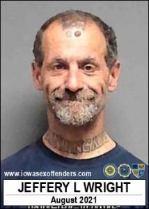 Jeffery Lee Wright a registered Sex Offender of Iowa