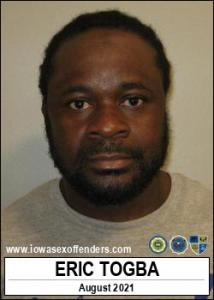 Eric Togba a registered Sex Offender of Iowa