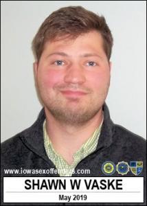 Shawn William Vaske a registered Sex Offender of Iowa