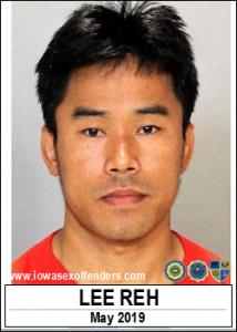 Lee Reh a registered Sex Offender of Iowa