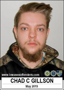 Chad Connor Gillson a registered Sex Offender of Iowa