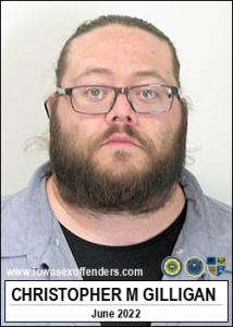 Christopher Michael Gilligan a registered Sex Offender of Iowa