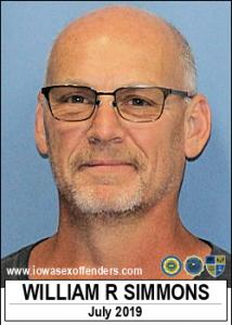 William Ray Simmons a registered Sex Offender of Iowa