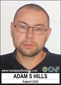 Adam Scott Hills a registered Sex Offender of Iowa