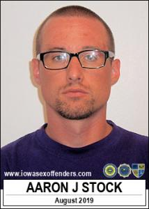 Aaron Joseph Stock a registered Sex Offender of Iowa