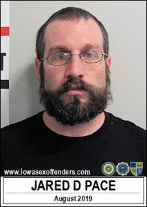 Jared David Pace a registered Sex Offender of Iowa