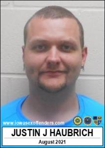 Justin Joseph Haubrich a registered Sex Offender of Iowa