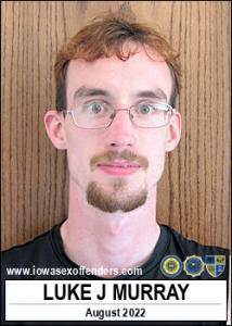 Luke Jeffrey Murray a registered Sex Offender of Iowa