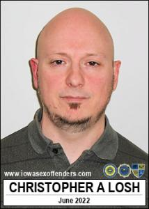 Christopher Allen Losh a registered Sex Offender of Iowa
