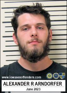 Alexander Richard Arndorfer a registered Sex Offender of Iowa