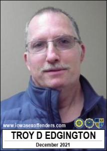 Troy Donald Edgington a registered Sex Offender of Iowa