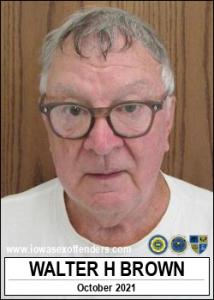 Walter Henry Brown a registered Sex Offender of Iowa