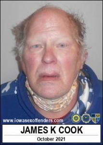 James Kermit Cook a registered Sex Offender of Iowa