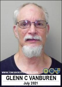 Glenn Charles Vanburen a registered Sex Offender of Iowa