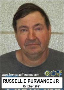 Russell Edward Purviance Jr a registered Sex Offender of Iowa