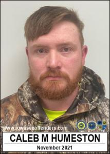 Caleb Michael Humeston a registered Sex Offender of Iowa