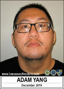 Adam Yang a registered Sex Offender of Iowa