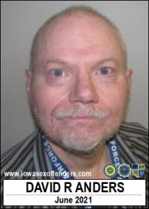 David Robert Anders a registered Sex Offender of Iowa