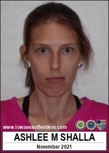 Ashlee Marie Shalla a registered Sex Offender of Iowa