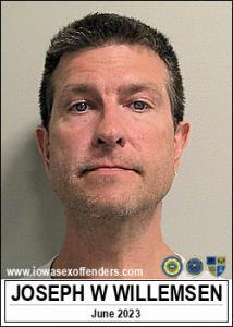Joseph William Willemsen a registered Sex Offender of Iowa