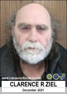 Clarence Raymond Ziel a registered Sex Offender of Iowa
