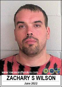 Zachary Scott Wilson a registered Sex Offender of Iowa