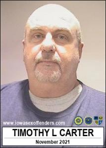 Timothy Lee Carter a registered Sex Offender of Iowa