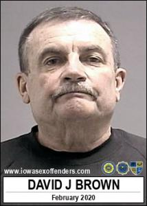 David Jonathan Brown a registered Sex Offender of Iowa
