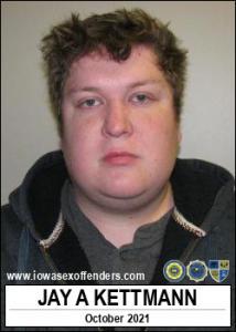 Jay Allen Kettmann a registered Sex Offender of Iowa