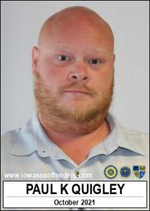 Paul Kyle Quigley a registered Sex Offender of Iowa