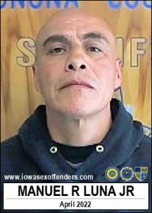 Manuel Reyes Luna Jr a registered Sex Offender of Iowa