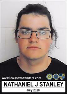 Nathaniel James Dean Stanley a registered Sex Offender of Iowa