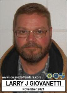 Larry Joe Giovanetti a registered Sex Offender of Iowa