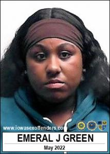 Emeral Jene Green a registered Sex Offender of Iowa
