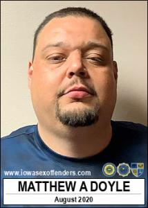 Matthew Allen Doyle a registered Sex Offender of Iowa