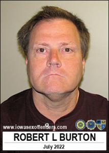 Robert Lee Burton a registered Sex Offender of Iowa