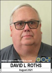 David Lynn Roths a registered Sex Offender of Iowa