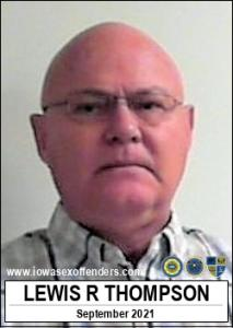 Lewis Ray Thompson a registered Sex Offender of Iowa