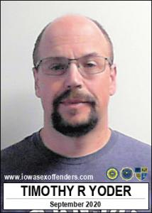 Timothy Ray Yoder a registered Sex Offender of Iowa