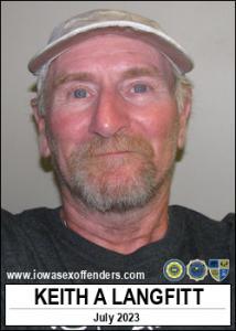 Keith Alan Langfitt a registered Sex Offender of Iowa