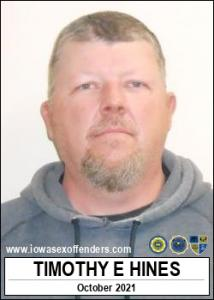 Timothy Eugene Hines a registered Sex Offender of Iowa