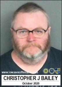 Christopher John Bailey a registered Sex Offender of Iowa